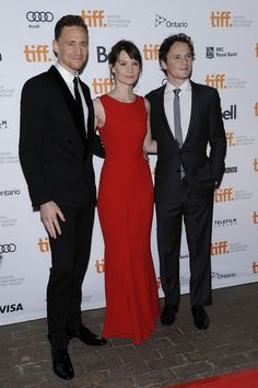 Anton with Tom Hiddleston and Mia Wasikowska
