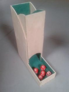 I've been wanting to make a dice tower for our family for a long time. It can prove useful when one plays boardgames that include loads of dice. But I needed a simple design and the examples I saw on the web were very creative and amazing …well out of my league! I finally managed [&hellip
