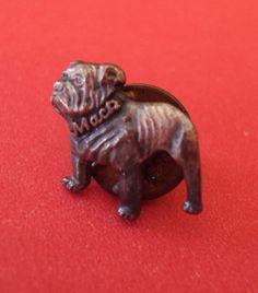 Tiny but fierce! Mack Bulldog. RetroRosiesVintage on Etsy.