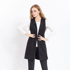Women Beautiful Sleeveless Jacket Coat