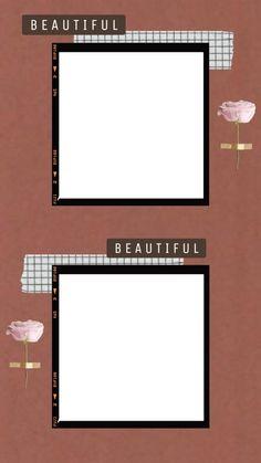 t u m b l r – frame Picture Templates, Photo Collage Template, Box Templates, Banner Template, Design Templates, Creative Instagram Photo Ideas, Instagram Photo Editing, Birthday Post Instagram, Polaroid Picture Frame