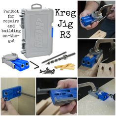 Product Spotlight: Kreg Jig® R3 | The Kreg Jig® R3 is the perfect solution for any homeowner who builds projects with wood. With the Kreg Jig® R3, you can make home improvements, build bookcases and shelves, storage projects, make lasting repairs, and much more. It's also great for anyone just getting started with pocket-screw joinery. The R3 can be secured to your workpiece with any standard bar clamp or C-clamp.