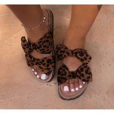 2020 Women Sandals Shoes Bow-Knot Anti-Slip Flat Sandals Comfortable Retro Beach Shoes Plus Size Zapatos Mujer Trendy Sandals, Cute Sandals, Cute Shoes, Me Too Shoes, Shoes Sandals, Flat Sandals, Women Sandals, Strappy Sandals, Flat Shoes
