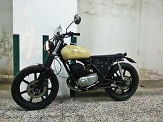 Cagiva sst 350cc ASI cafe racer - bratstyle