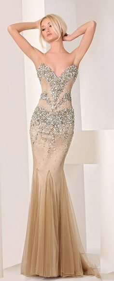 Haute Couture collection 2013 of evening dresses and gowns.