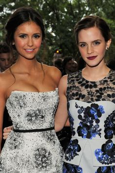 Nina Dobrev and Emma Watson at event of The Perks of Being a Wallflower