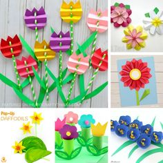 Here are some fun and colorful 3D Flower Crafts kids will love creating for spring crafts. Several of them can double as a handmade gift so keep Mother's Day in mind as you browse through all of these beautiful 3D flower craft ideas.