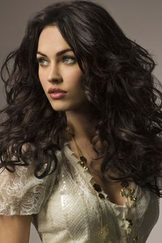Megan Fox and Curly Hair Photograph