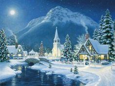 122 best christmas scenery