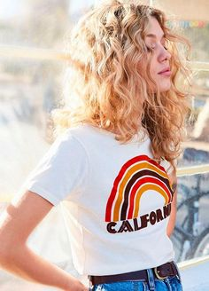 Curly Blonde Hair Teen