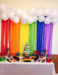 BabyFirst TV Theme - Rainbow Candy Buffet