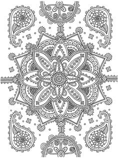 Coloring Pages Books Madness Zentangle Doodles Mandala Doodle Colour Therapy Quote