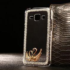 Swan+model+pc+caz+greu+de+bricolaj+pentru+mai+multe+Samsung+Galaxy+J1+/+J5+/+J7+–+USD+$+8.99