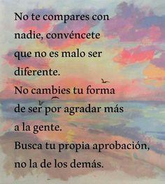 No es malo ser diferente