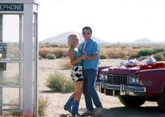 Patricia Arquette as Alabama Whitman and Christian Slater as Clarence Worley in True Romance Christian Slater, Patricia Arquette, True Romance, Romance Movies, Road Trip Movie, Alabama, Tony Scott, Film Inspiration, Bridesmaid Outfit