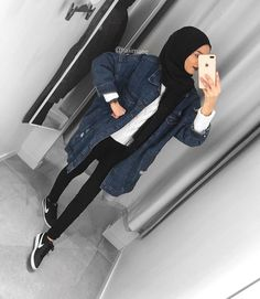 ZAFUL offers a wide selection of trendy fashion style women's clothing. Outfits Casual, Casual Hijab Outfit, Hijab Chic, Mode Outfits, Hijab Dress, Fashion Outfits, Classy Outfits, Street Hijab Fashion, Muslim Fashion