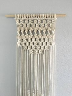 Macrame Wall Hanging / Wall Hanging / Small Wall Hanging /