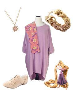 LuLaRoe Disney inspired: Rapunzel from Tangled inspired outfit! Love this!