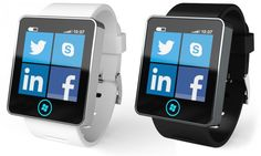 Fancy a bit of Windows Phone 8 bling on your wrist? // Would love to see something like that for Windows Phone.