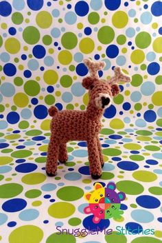 Sherman the Deer by SamSchreyer   Crocheting Pattern - Looking for your next project? You're going to love Sherman the Deer by designer SamSchreyer. - via @Craftsy