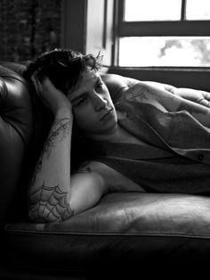 Model Ash Stymest For Fiasco Magazine Ash Stymest, John Galliano, Bad Boys, Cute Boys, Mcqueen, Bae, Girl House, Male Models, Find Image