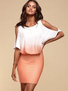 Cold-shoulder Print Dress #VictoriasSecret http://www.victoriassecret.com/clothing/sexy-dresses/cold-shoulder-print-dress?ProductID=95342=OLS?cm_mmc=pinterest-_-product-_-x-_-x