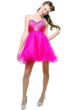 Strapless Cocktail Party Junior Prom Dress #697 « Dress Adds Everyday