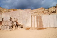 Went to see one marble quarry in Novelda, Spain