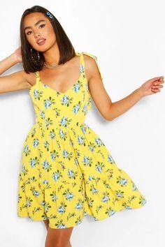 Dresses   Womens Dresses Online   boohoo UK Long Sleeve Smock Dress, Belted Shirt Dress, Midi Dress With Sleeves, Robe Swing, Swing Dress, Skater Bridesmaids Dresses, Skater Dresses, Bodycon Fashion, Skirt Fashion