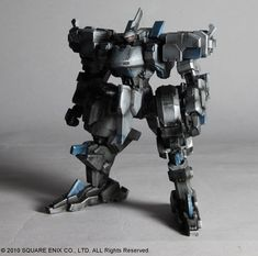 AmiAmi [Character & Hobby Shop] | Play Arts Kai front Mission Evolve Vol.2 Zephyr Action Figure