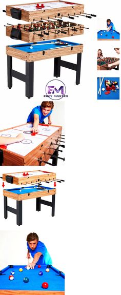 Other Indoor Games 36278: 3 In 1 Rotating Combination Multi Game Table ~  Pool ~ Air Hockey ~ Ping Pong~New BUY IT NOW ONLY: $829.99   Pinterest   Multi  Game ...