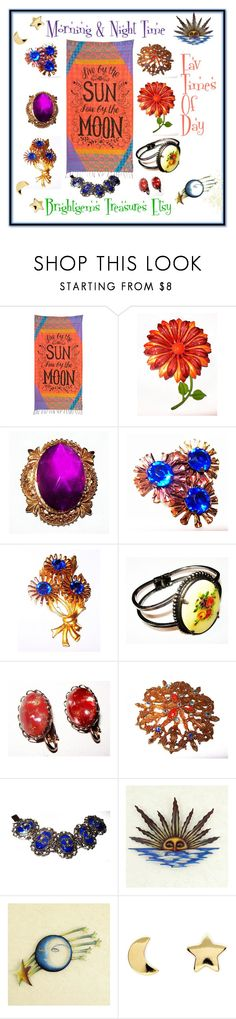 Morning & Night My Fav Times of Day by brightgemsu on Polyvore featuring Erica Weiner, Natural Life and NOVICA