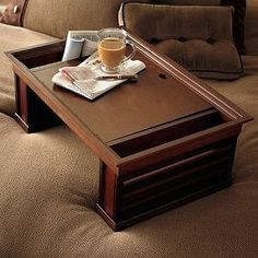 Breakfast Trays For Bed Brilliant Breakfast In Bed Tray Dark Satinronel$11900Writing Table Design Ideas