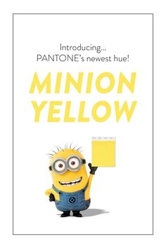 Pantone Color Institute's Minion Yellow