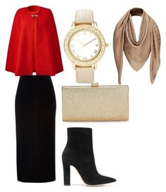 """Untitled #6"" by emine-zor on Polyvore featuring River Island, Gianvito Rossi, La Regale and Chico's"