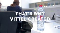Refresh cap (Ogilvy Paris, 2014): a bottle cap design for French brand Vittel in order to remind people to drink up.