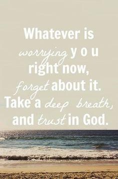 Trust :)