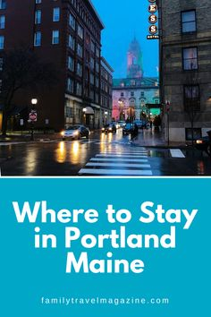 Guests visiting the fun city of Portland Maine have a lot of lodging options. Read about the best places to stay in Portland Maine, including our reviews of some of the best Portland hotels. Portland Hotels, Portland City, Portland Maine, Best Vacation Spots, Best Vacations, New England Travel, Old Port, The Good Place, The Neighbourhood