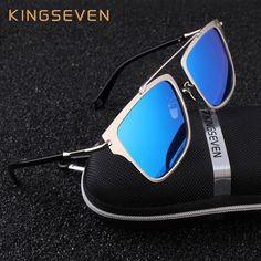 666b392306 FuzWeb KINGSEVEN Polarized Sunglasses Women Newest Square Alloy frame  Specialties For Men Women Oculos