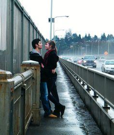 bridges are quite romantic! Romantic Pictures, Pure Romance, Photo Location, Engagement Pictures, Bridges, Pure Products, Cute, Engagement Photos, Engagement Pics