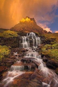 Clements Mountain at dawn, Montana USA