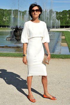 Ines de la Fressange at the Chanel Cruise 2013