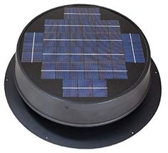 Roof Mounted Solar Attic Fan for Pitched or Flat Roofs, solar panels on flat roof. Solar Attic Fan, Solar Fan, Solar Energy Panels, Best Solar Panels, Solar Roof Tiles, Solar House, Solar Panel Installation, Panel Systems, Solar Energy System