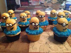 Minion cupcakes ! Minion party