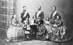 Christian IX of Denmark and family 1862 - George I of Greece - Wikipedia