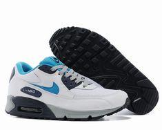 premium selection a2cfe 27be1 air max 90 essential homme,homme air max 90 blanche et bleu