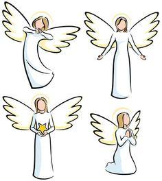 Angel Sketch, Angel Drawing, Christmas Angels, Christmas Art, Engel Illustration, Simple Illustration, Art Rupestre, Angel Vector, Art Pierre