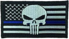Patch Squad Men's USA Flag Punisher Thin Blue Line Patch Patch Squad http://www.amazon.com/dp/B01743W3B4/ref=cm_sw_r_pi_dp_Acqswb0ZPRMTE