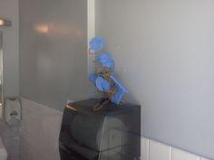 Monstrosity in a public restroom