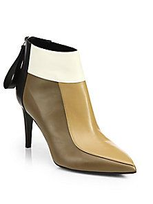 Pierre Hardy - Colorblock Leather Ankle Boots (=)